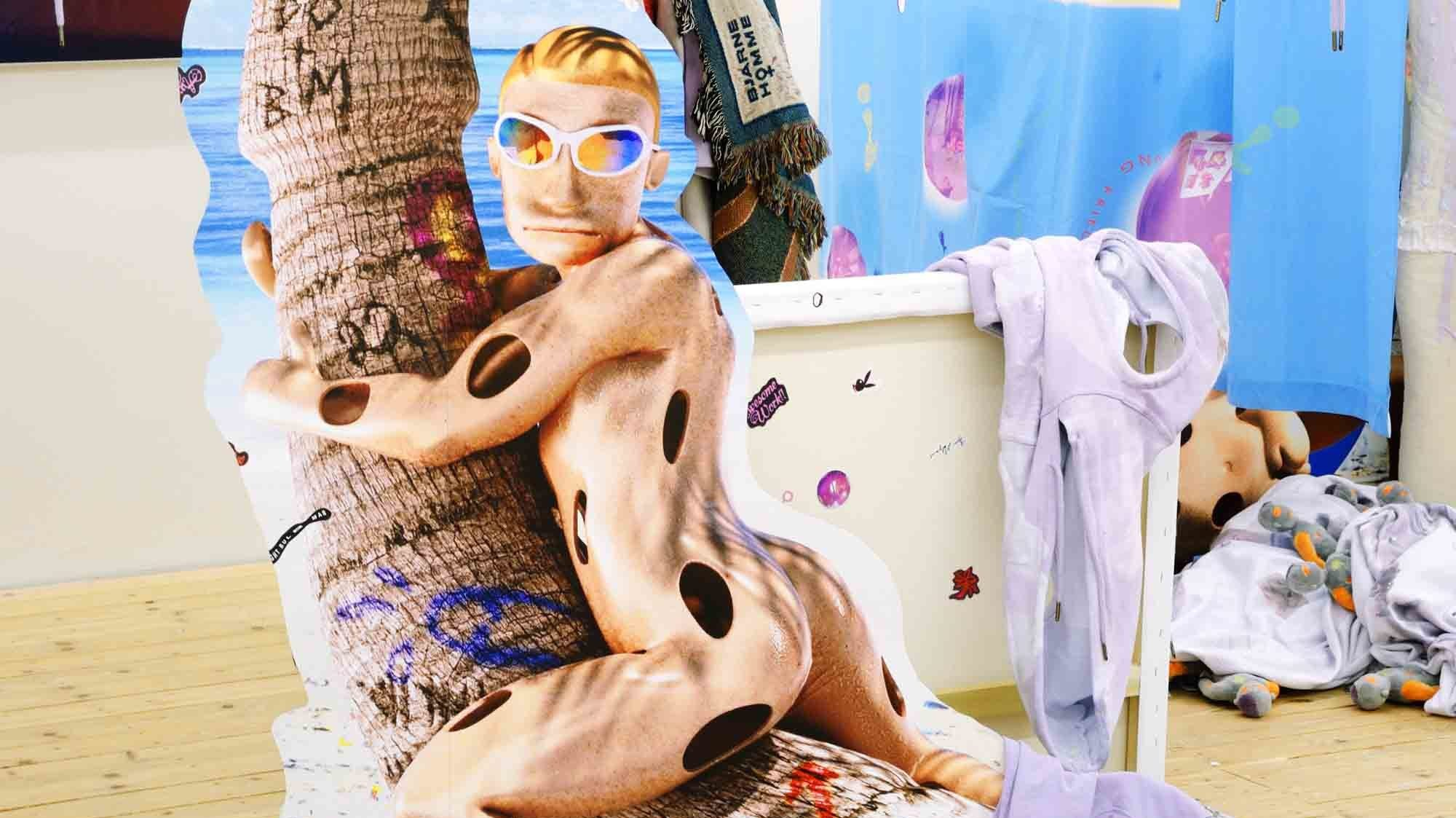 bjarne melgaard brings his psychedelic countryside pop-up to vfiles