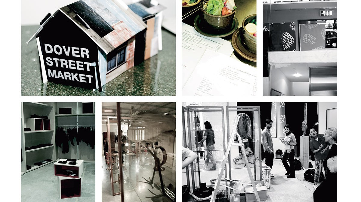 rewind to the moment dover street market landed in london and rewrote the rules of retail