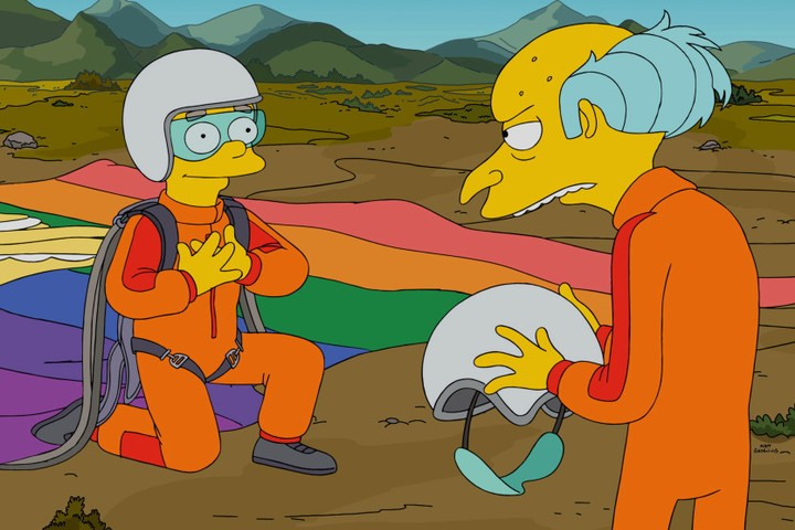 smithers' coming out episode is a tribute to 'simpsons' writer's queer son