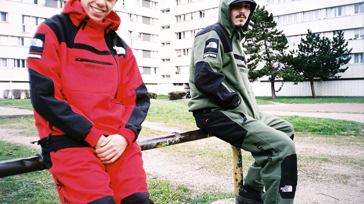 d362b8296 supreme and the north face take on extreme skiing in second collab - i-D