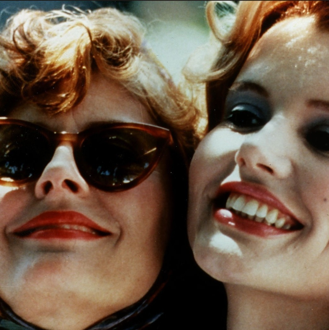 thelma and louise is a feminist film essay This essay analyzes callie khouri's thelma and louise, drawing  partisan lines , men attack the movie as a male-basing feminist screed [sic],.