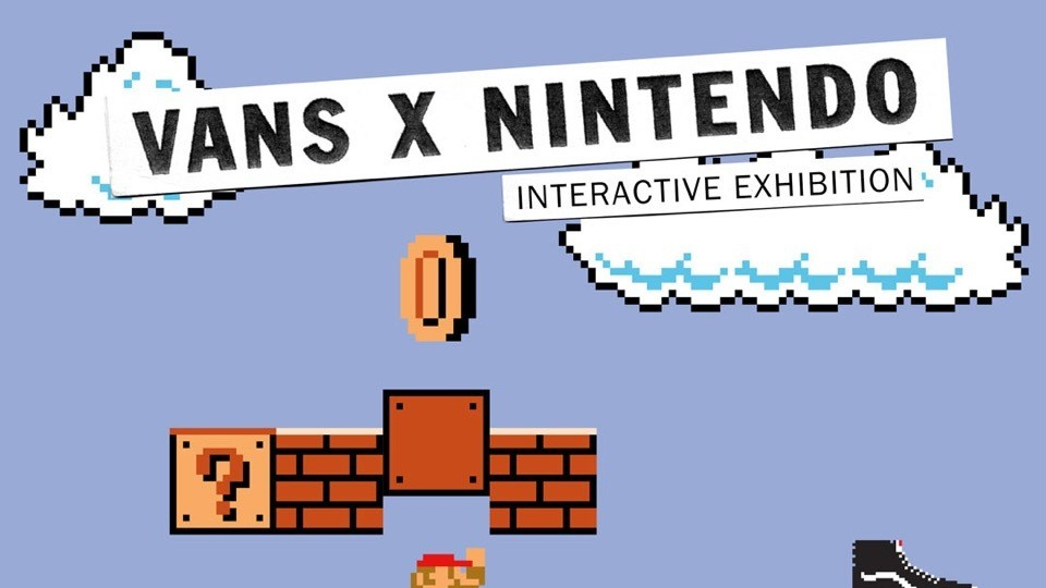 vans x nintendo are on a nostalgic tip with interactive exhibition