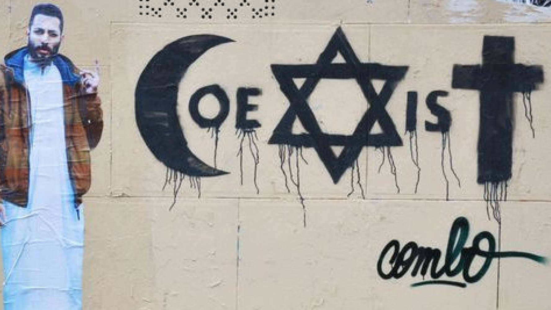 meet the french muslim street artist fighting for coexistence