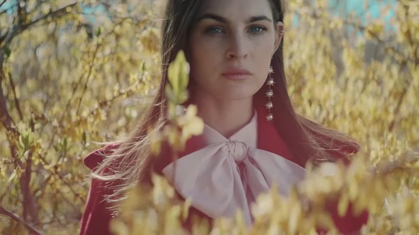 gia coppola and dev hynes reunite for a very gucci fairytale