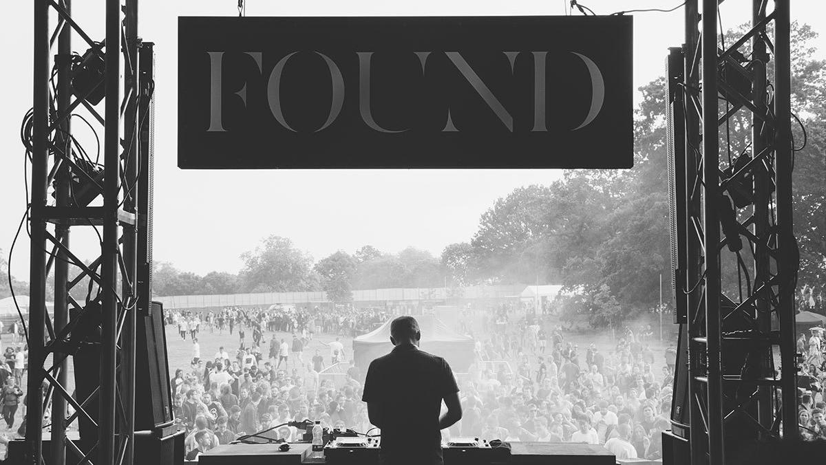 what went down at the found festival i-D mix stage