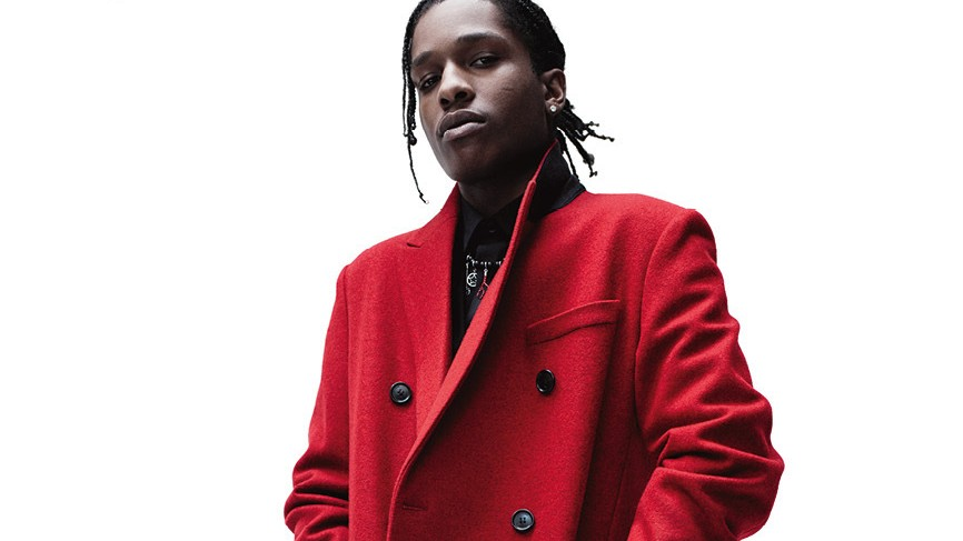 a$ap rocky and larry clark front dior homme's fall/winter 16 campaign
