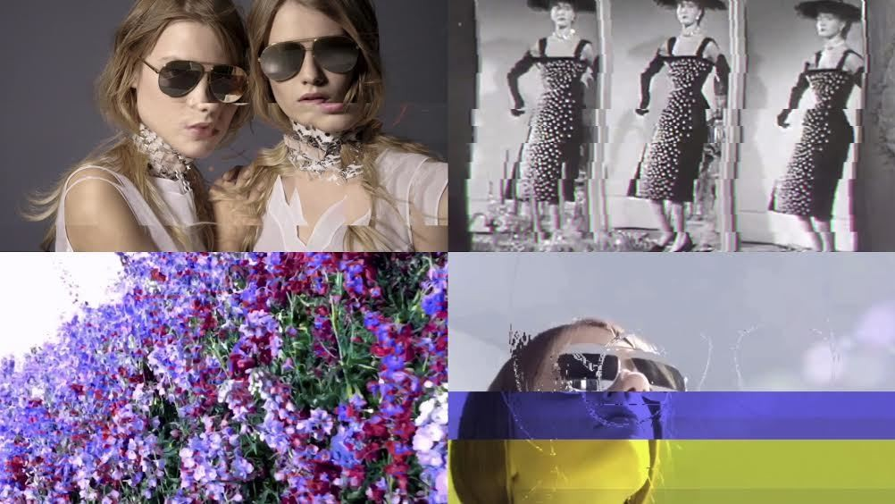 exclusive: dior team up with instagram artist bessnyc4 for a series of glitchy videos