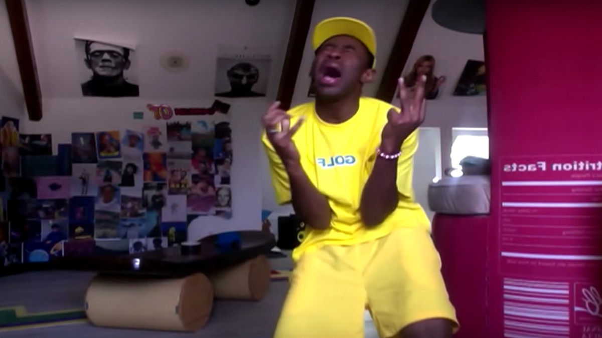 the video for tyler the creator's 'pillowtalk' remix offers a peak into his  amazing bedroom - i-D