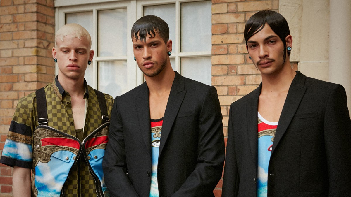 givenchy's new masculinity for spring/summer 17