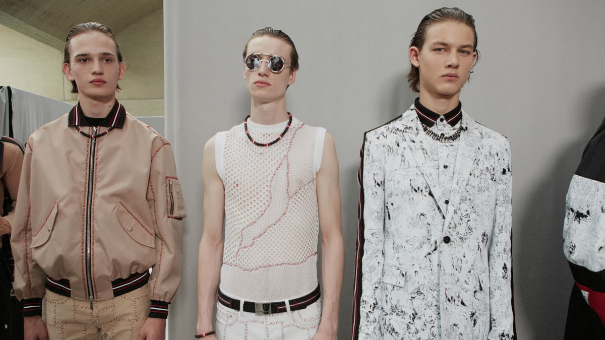 dior homme's optimistic spring/summer 17