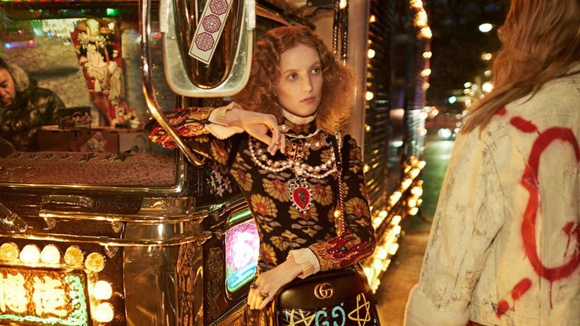 gucci invites you on a dreamy tokyo road trip with petra collins behind the wheel