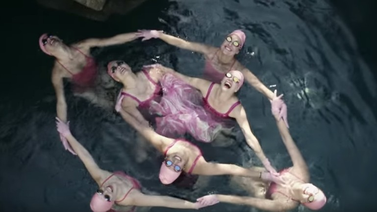peaches celebrates bodies, sexuality, and synchronized swimming in her new video