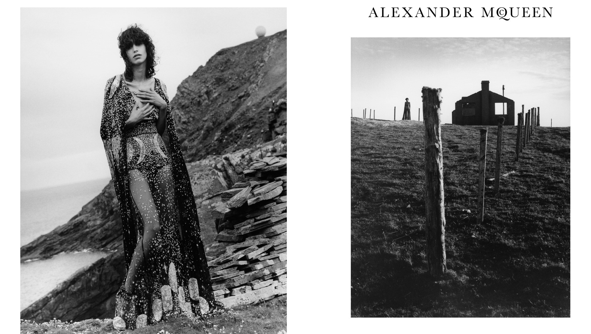 ​mica arganaraz explores the shetland islands for alexander mcqueen
