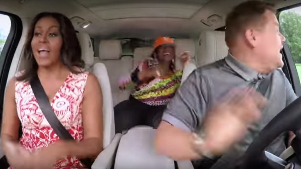 michelle obama and missy elliott carpool karaoke to your favourite feminist anthems