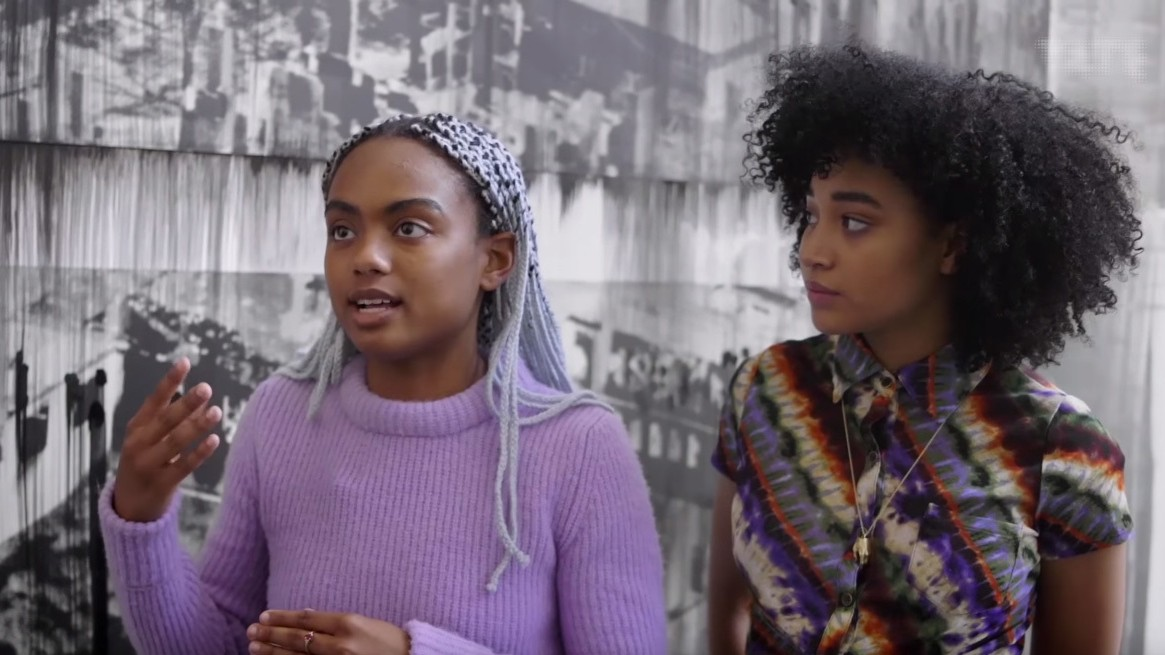 ​art hoe collective's amandla stenberg and mars on art and black femme identity