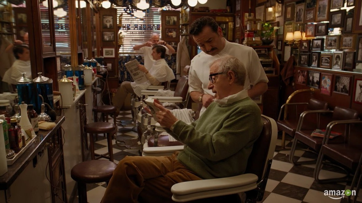 watch the trailer for woody allen's tv show with miley cyrus