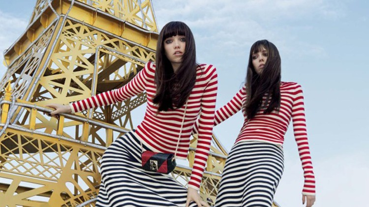 sonia rykiel brings a taste of paris to new york in the autumn/winter 16 campaign