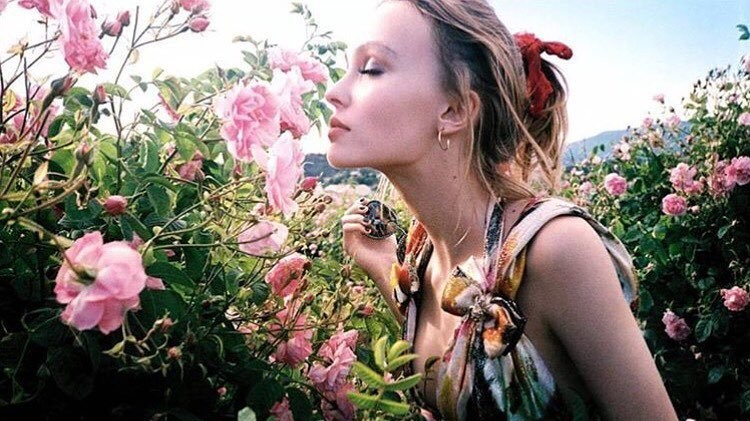 lily rose depp's chanel n°5 campaign is here