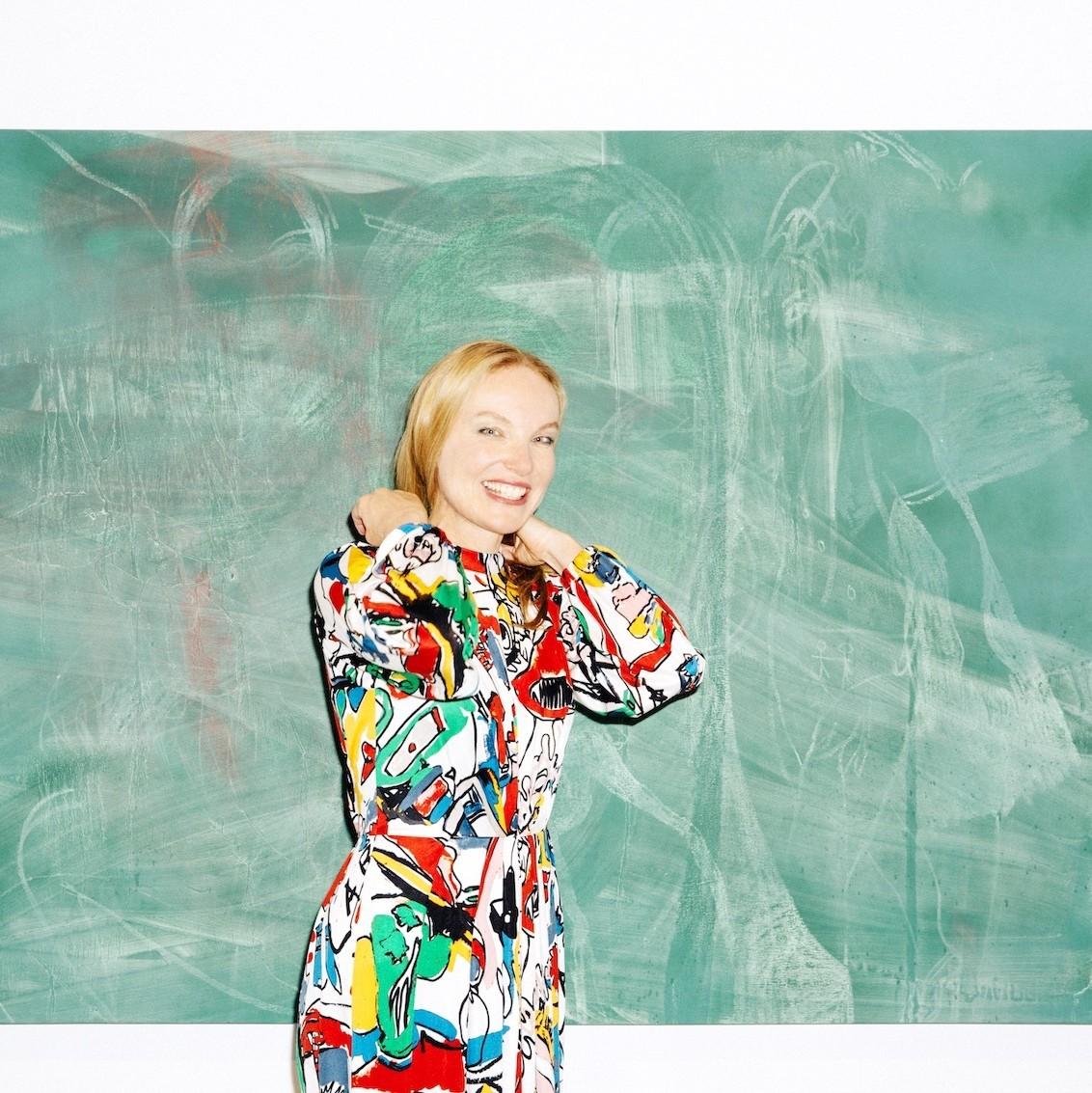 Artist Rita Ackermann On Radicalism, Richard Kern, And -5040