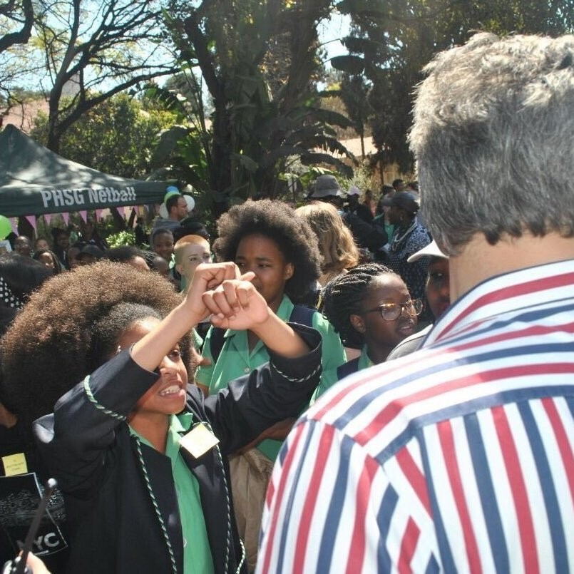 Black South African Schoolgirls Are Protesting Their Right