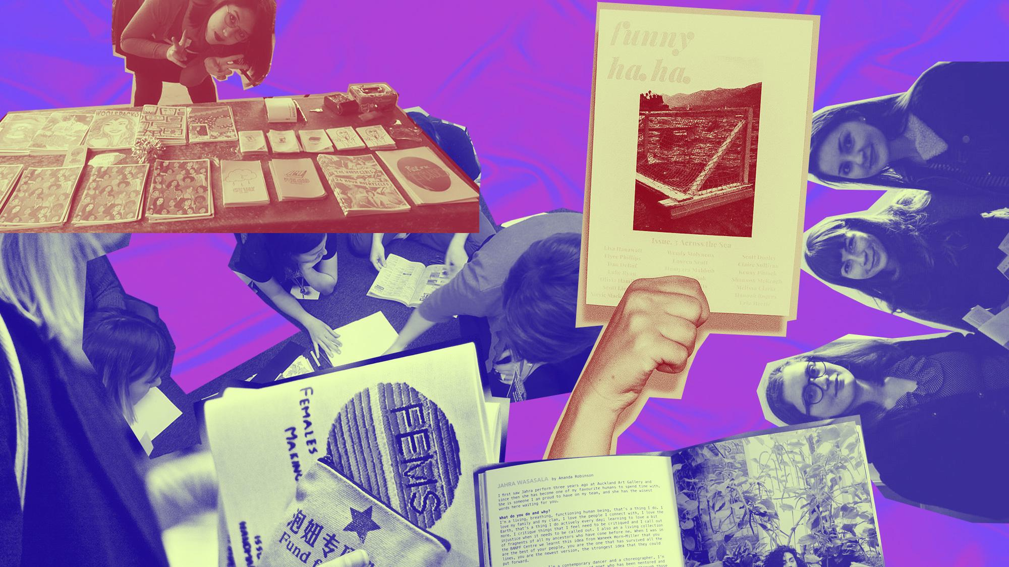 digital fatigue: why young women are returning to zines