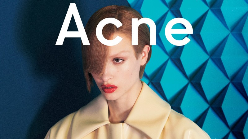 see exclusive images from the new acne studios campaign, shot by david sims