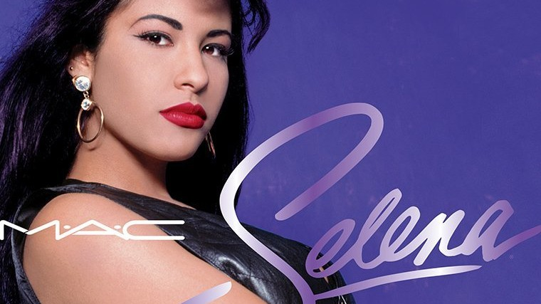 mac are honouring selena with a 90s collection inspired by her