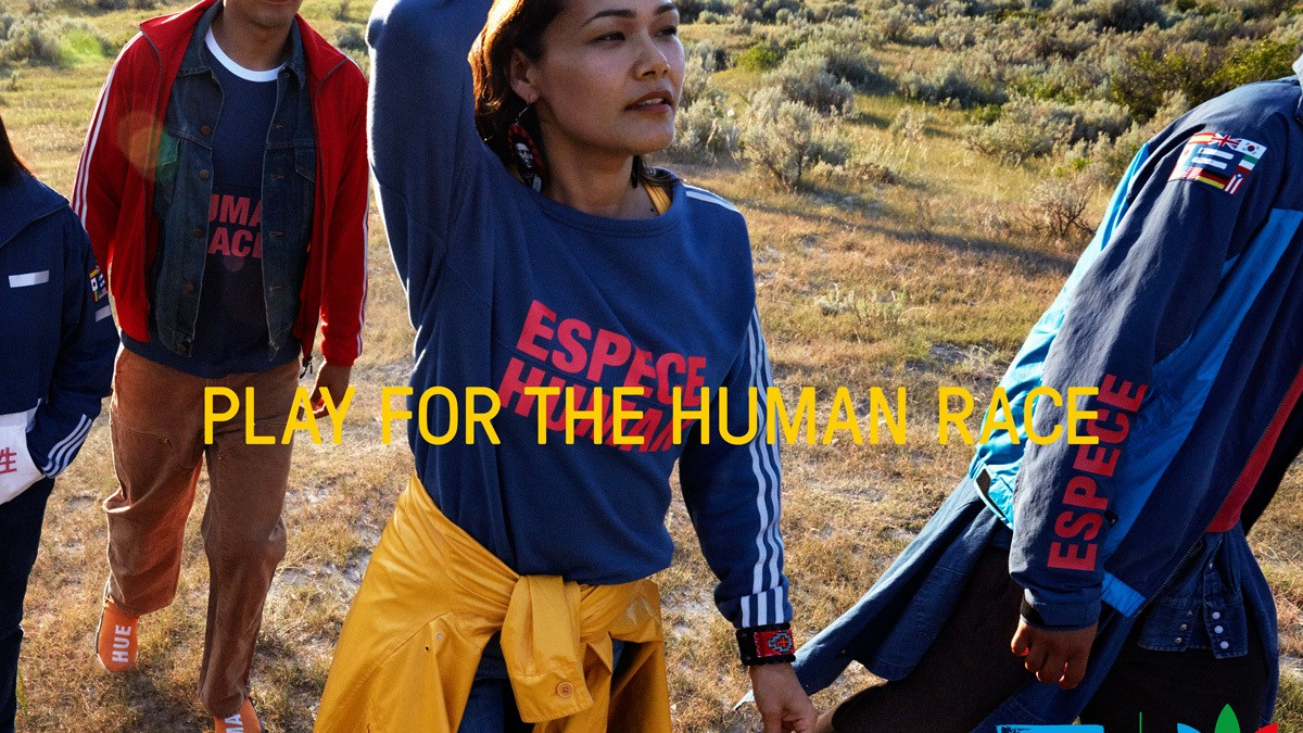 pharrell visits the native american mha nation in the promo for hu, his adidas originals collection