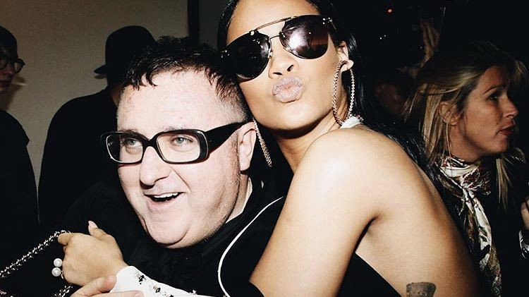 alber elbaz honoured by french government during pfw