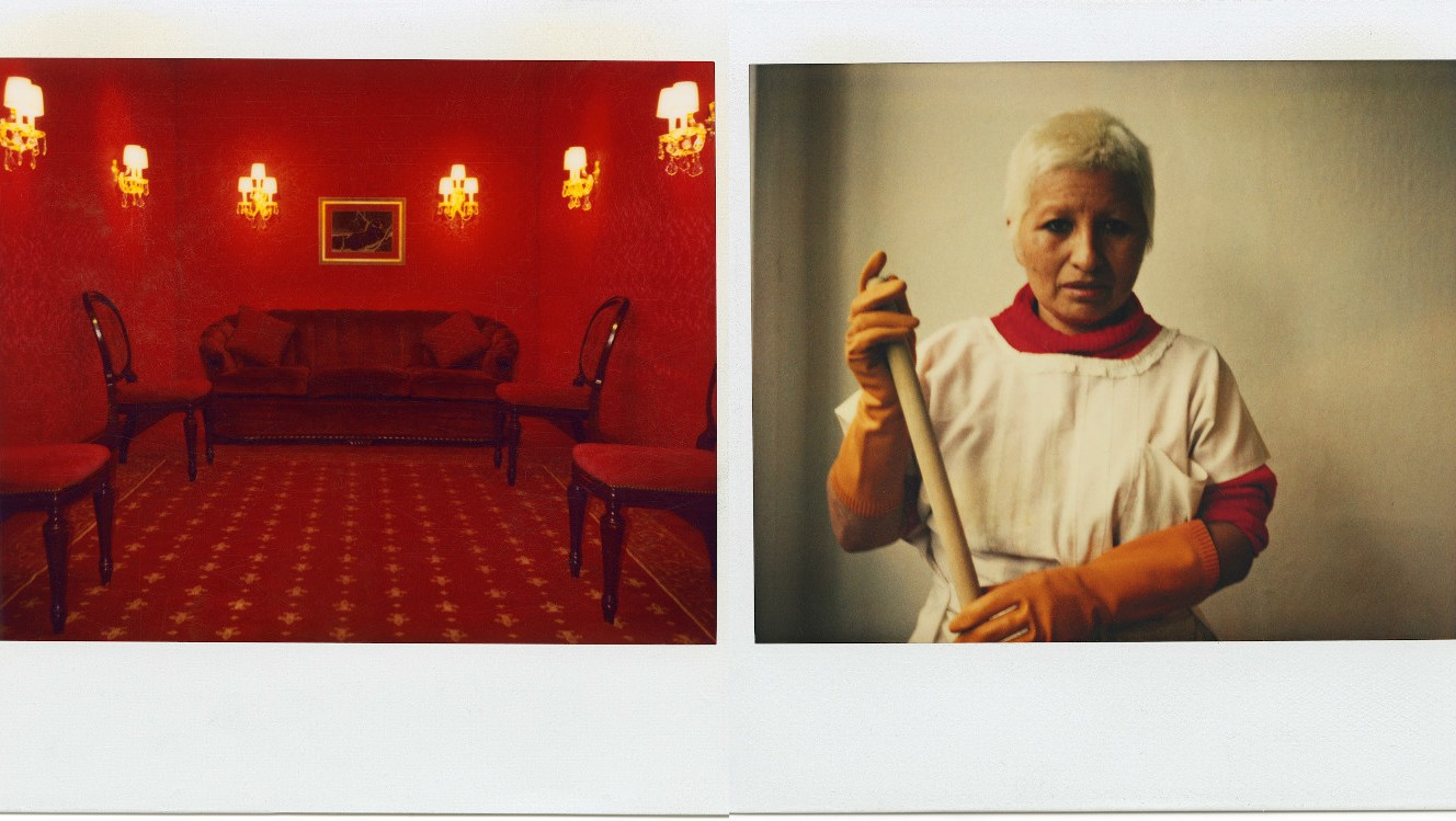 production designer happy massee's polaroid diary: featuring madonna and lynchian dreams