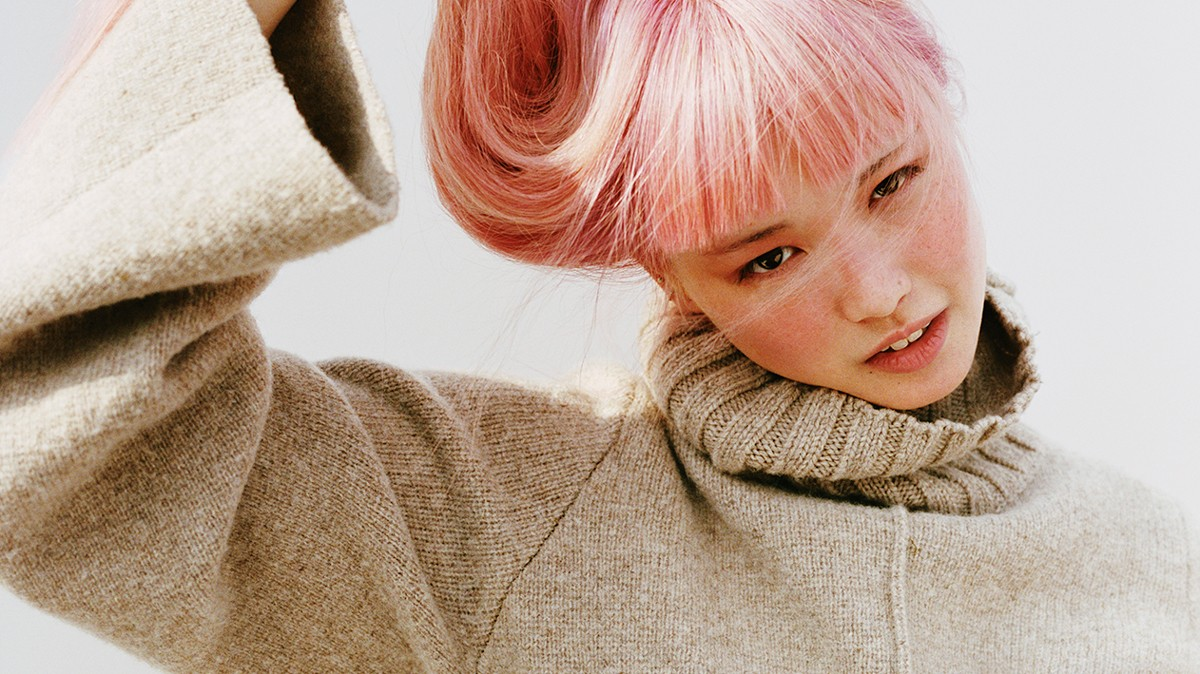 fernanda ly stars in fran stringer's first collection for pringle