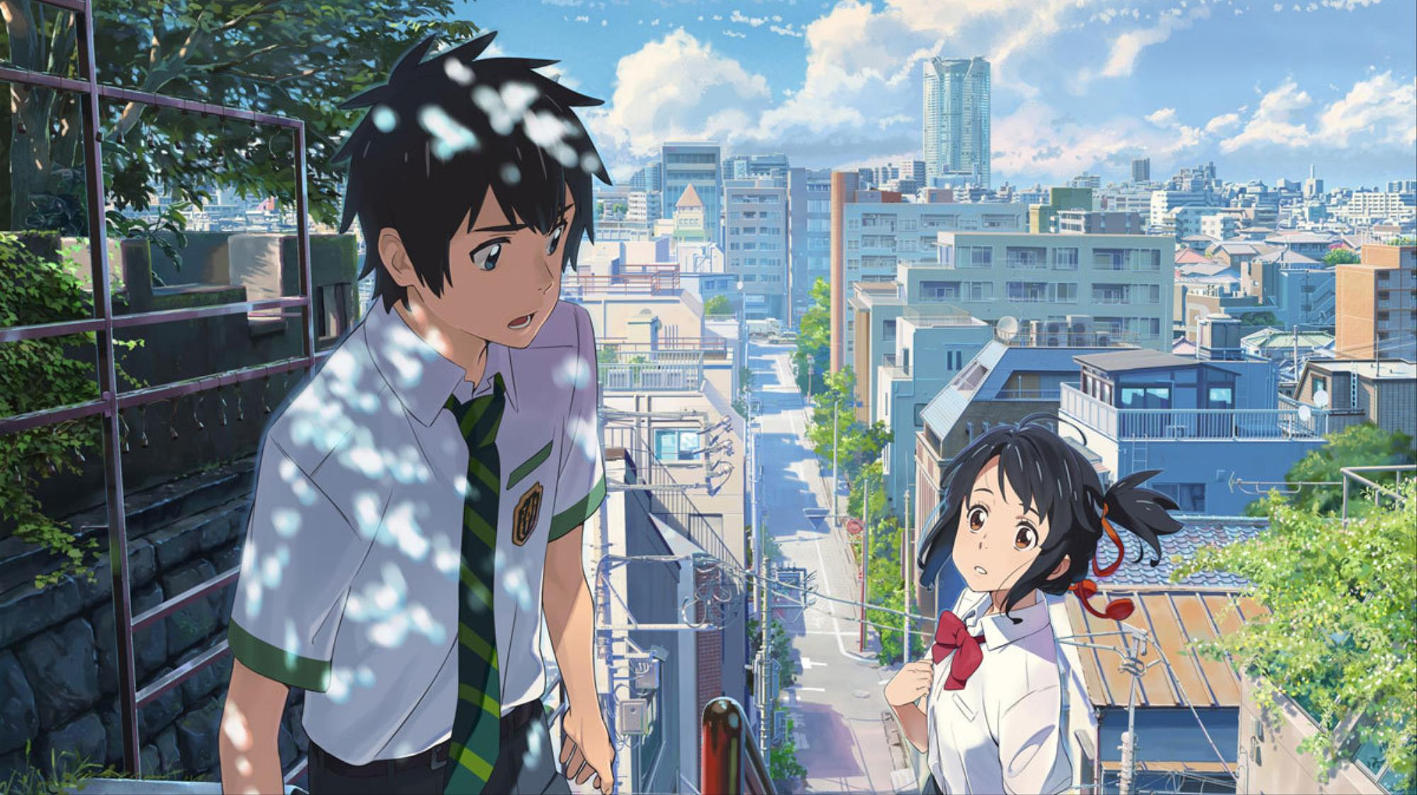 ​your name: the japanese anime about body-swapping teens
