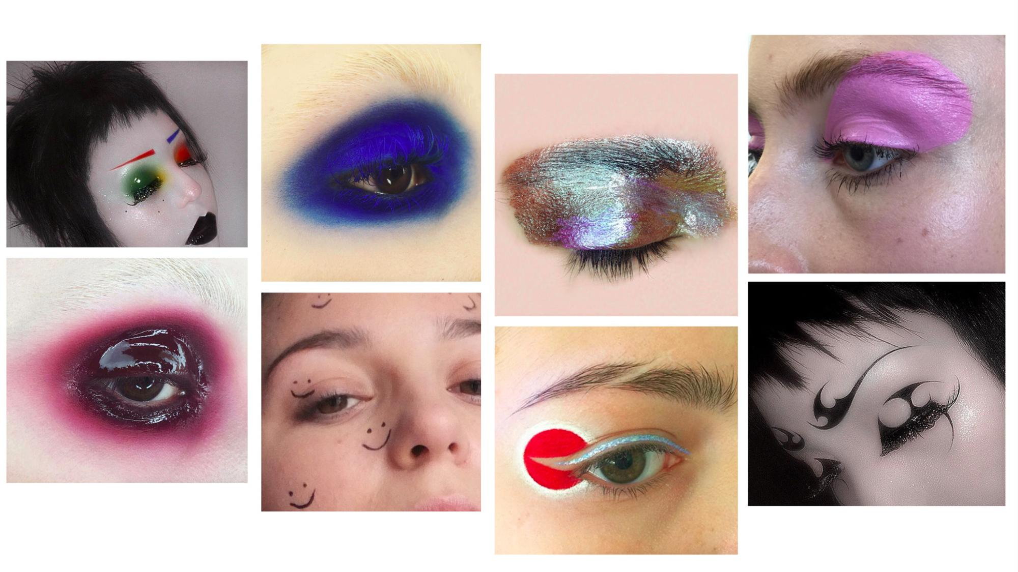 goths, glitter, glow: five makeup artists you'll actually be inspired by