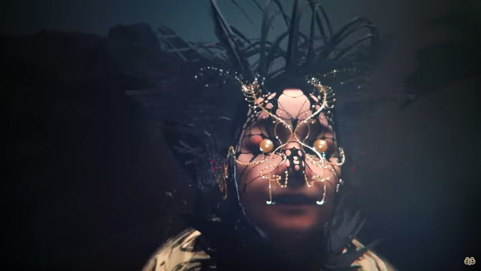 björk is a glittering, flaming sea creature in her latest virtual reality music video