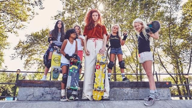 natalie westling created her dream vans for opening ceremony