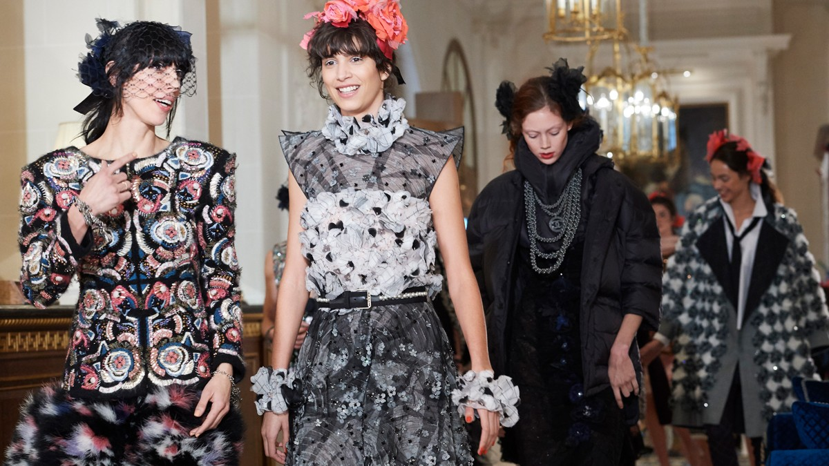 a ritz-y affair: chanel goes 30s with metiers d'art