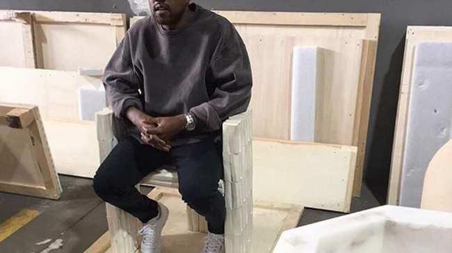 Kanye West Feels Better Still Loves Rick Owens Furniture I D