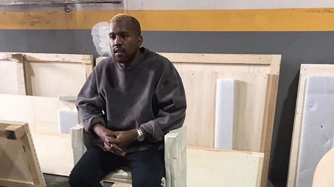kanye west feels better, still loves rick owens furniture