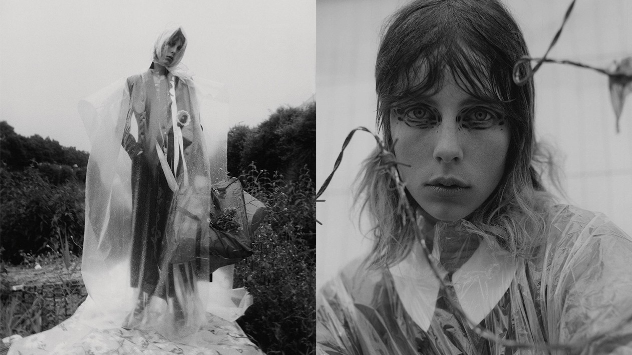 if you go down to the woods today: edie campbell