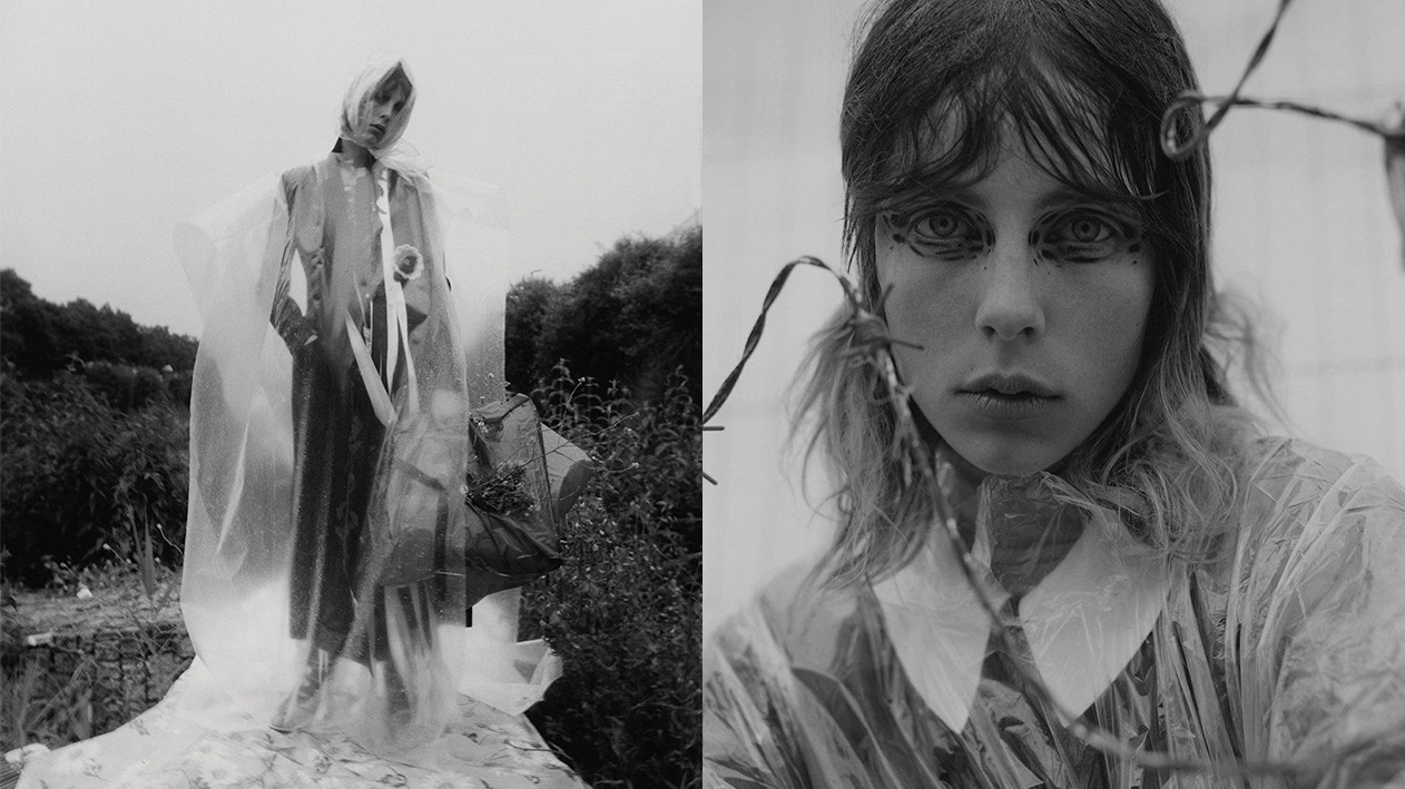 if you go down to the woods today: edie campbell hits the great outdoors