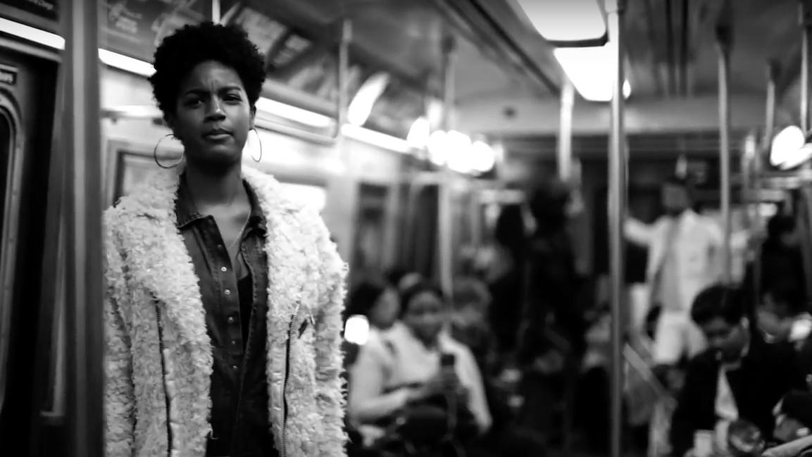 a new, confrontational art project brings activists to crowded subway cars