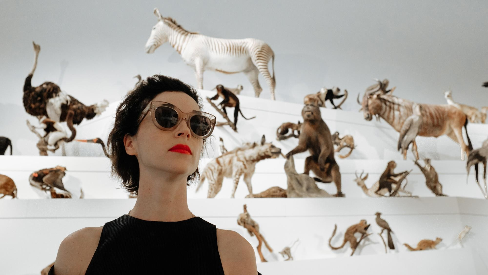 st vincent is skewering guitar magazines and talking new material