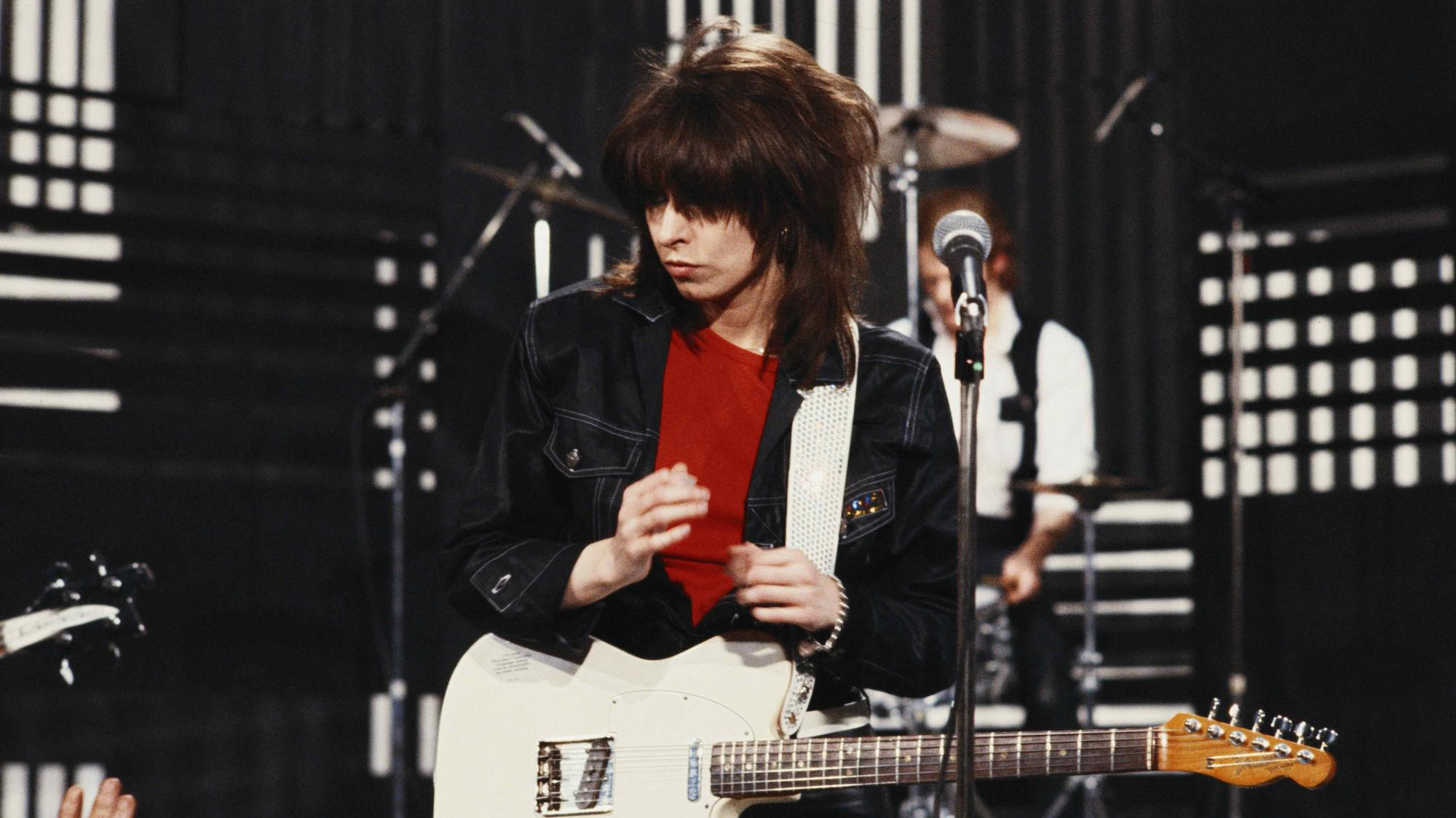 an ode to chrissie hynde's feral fashion sense