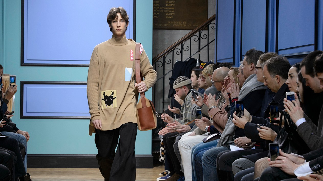 manic street preachers: sunday at london fashion week men's
