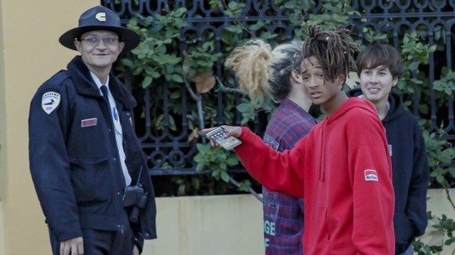 is jaden smith shooting a skate film?