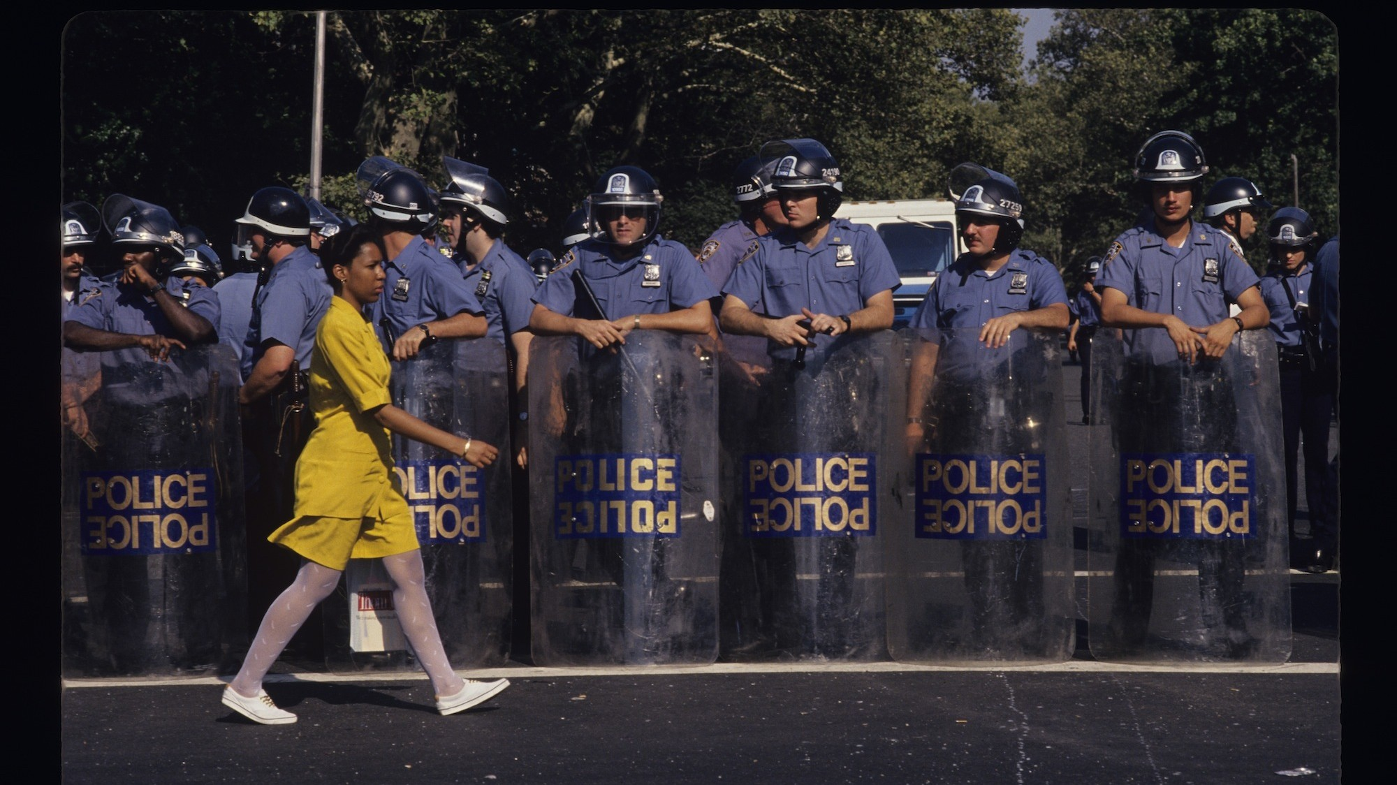 capturing 20 years of new york city activism, from aids to police brutality