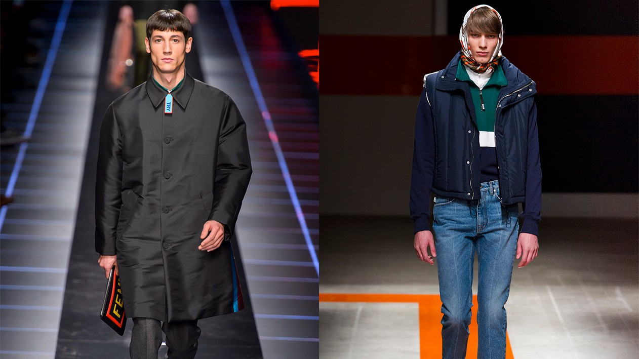 old values, new fashion: day three at milan men's shows