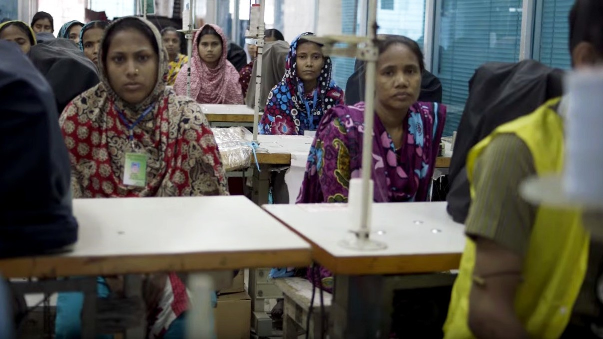 in bangladesh, the people who make your clothes are striking for their rights