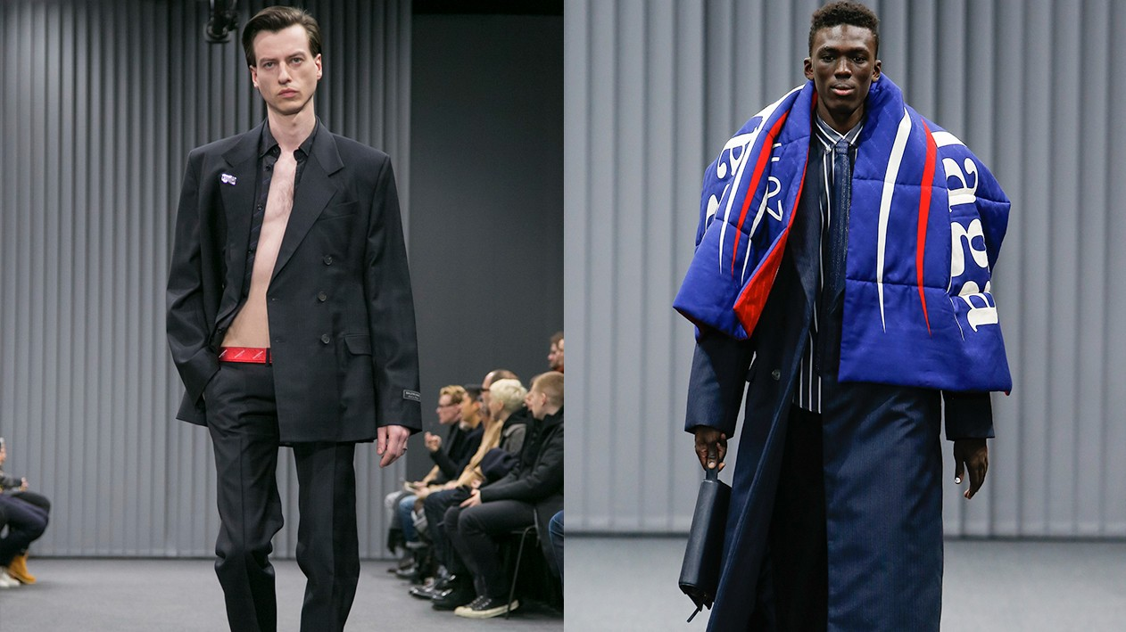 corporate cannibals: the first day of paris men's shows