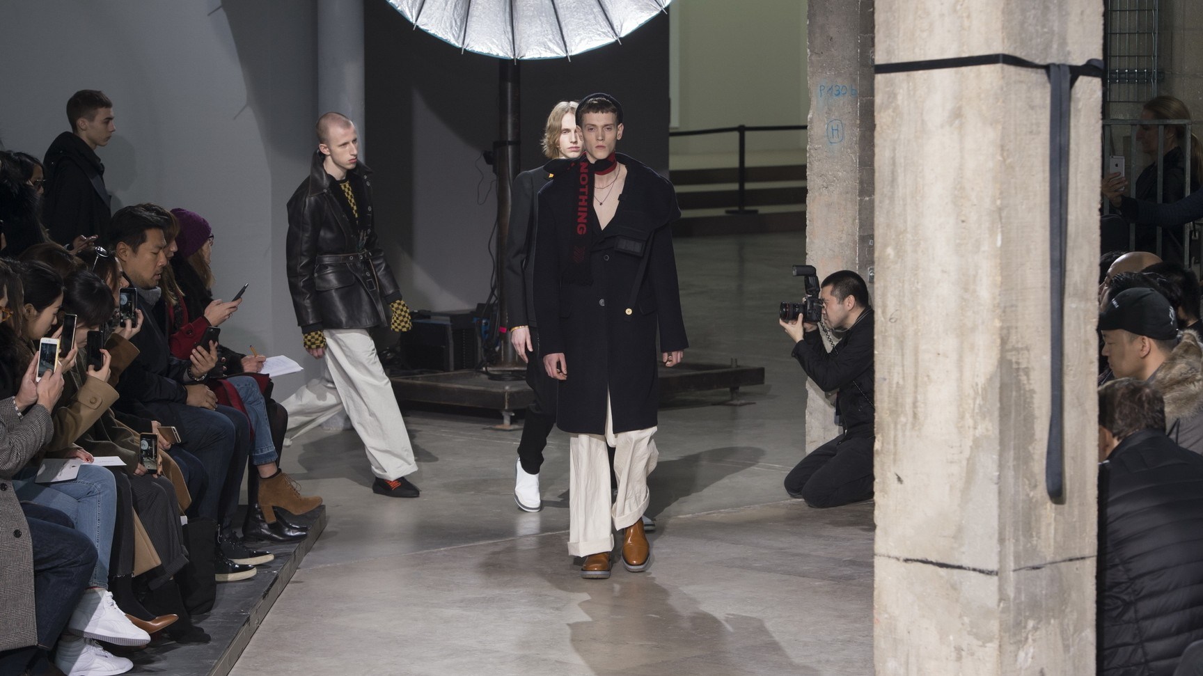 the new face of fashion week: day five at paris mens shows